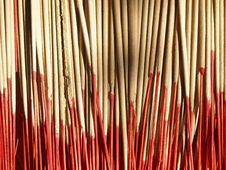Free Incense With Red Stick Royalty Free Stock Images - 31270099