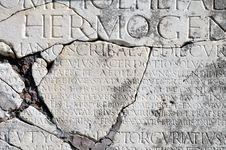 Free Ostia Antica, Carved Roman Type Stock Photos - 31270563