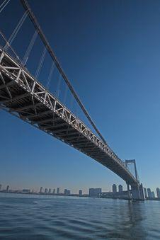 Free The Bridge Across Tokyo Bay Stock Photo - 31275500