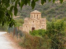 Free Old Church In Crete Island Royalty Free Stock Photos - 31280828