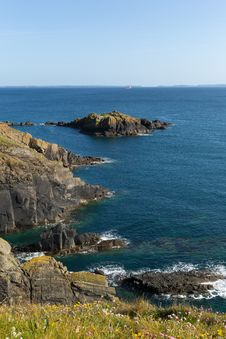 St Brides Bay Pembrokeshire West Wales UK Near St Davids Stock Photos