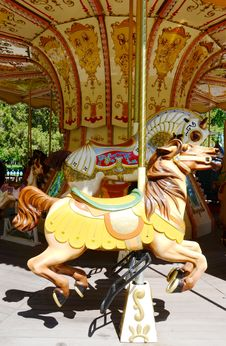 Free Carousel Horse Stock Photo - 31282700