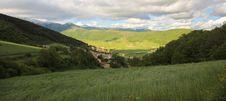 Annifo Village - Umbria Stock Photo