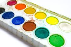Free Water Color Palette Stock Photography - 31283122