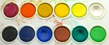 Free Water Color Palette Royalty Free Stock Images - 31283149