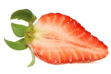 Free Half Of Strawberry Stock Photography - 31283272
