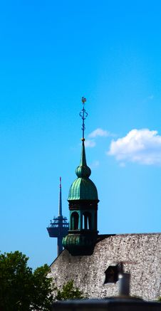 Free Cologne Towers Royalty Free Stock Photography - 31285607