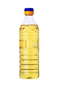 Free Sunflower Oil In A Plastic Bottle Stock Images - 31286894