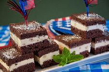 Free Patriotic Brownies Royalty Free Stock Photos - 31295538
