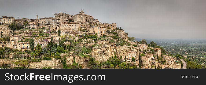 Ancient French Village of Gordes