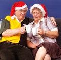 Free Christmas Couple Stock Photo - 3132240