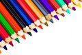 Free Diagonal Crayons - Colored Pen Royalty Free Stock Image - 3132816