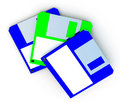 Free Floppy Disc Royalty Free Stock Photo - 3135775