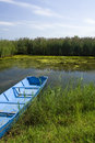 Free Boat Detail In Pond Stock Photography - 3138762