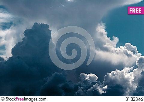 Free Cumulus Royalty Free Stock Image - 3132346