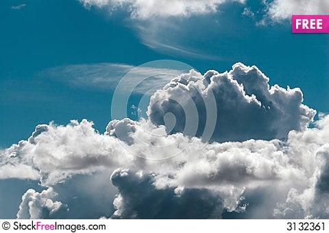 Free Cumulus Stock Image - 3132361
