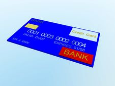 Free Credit Card 12 Royalty Free Stock Image - 3130386