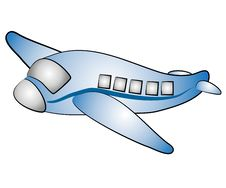 Free Isolated Airplane Jet Clip Art Stock Images - 3131344