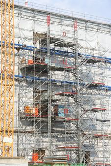 Free Scaffolding Royalty Free Stock Photo - 3131525