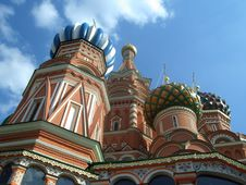 Church On Red Square In Moscow Royalty Free Stock Photography