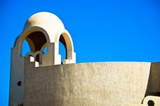 Mediterranean Islamic Building Royalty Free Stock Image