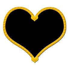 Free Golden Heart Stock Photo - 3132670