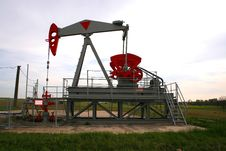 Free Oil Well Stock Photography - 3133052