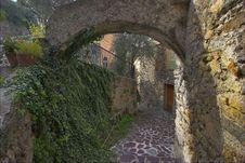 Ancient Walls. Royalty Free Stock Image