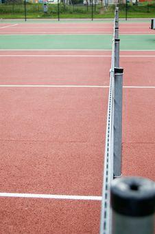 Free Tennis Court Royalty Free Stock Photos - 3134198