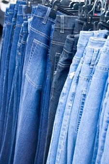 Free Jeans For Sale Stock Photos - 3134743