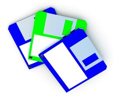 Free Floppy Disc Royalty Free Stock Photo - 3135775