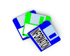 Free Floppy Disc 3 Royalty Free Stock Image - 3135786