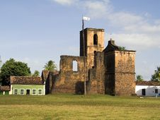 Church Ruins Royalty Free Stock Images
