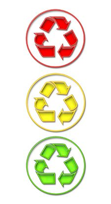 Free Recycling Light Royalty Free Stock Images - 3136139