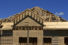 Free House Under Construction Royalty Free Stock Photos - 3136548