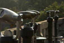 Free Pay Telescopes. Royalty Free Stock Photography - 3136637
