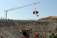 Free Roman Arena, Verona, Italy Stock Images - 3136754
