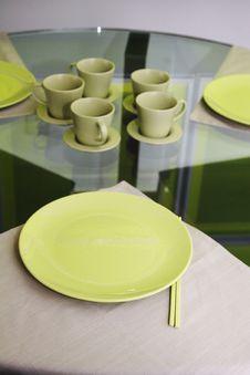 Free Green Dinnerware Stock Images - 3136784