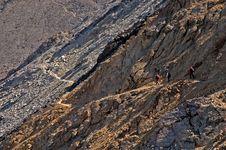 Free Climbing Rocky Ridge Stock Photos - 3137263
