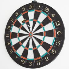 Free One Dart In The Dartboard Stock Images - 3137984