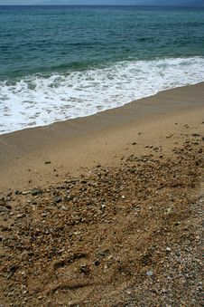 Free Sand On Aegean Sea Stock Photos - 3139123