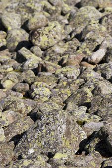Free Stones Royalty Free Stock Image - 3139306