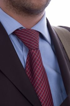 Free Business Man Tie Detail Stock Images - 3139374