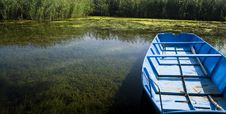 Free Boat Detail In Pond Royalty Free Stock Photos - 3139428