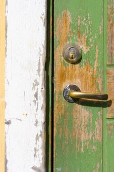 Free Very Old Door Royalty Free Stock Photos - 3139508