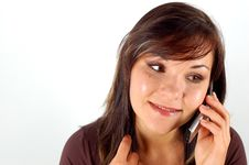 Free Woman With Mobile Phone 12 Royalty Free Stock Photo - 3139705