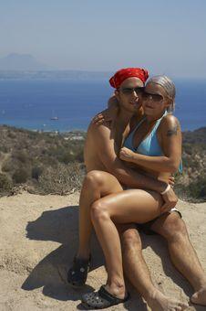 Free Happy Couple On Vacation Stock Photo - 3139720