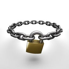 Free Chain Lock Stock Photos - 31306513