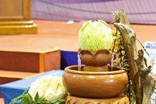 Free Cantaloup Carving 14 Stock Image - 31307261