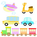 Free Transportation Set Royalty Free Stock Photo - 31314825